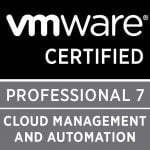Cloud Management and Automation – validates your skills in installing, configuring, and optimizing public, private, and hybrid clouds using the VMware vRealize Suite.