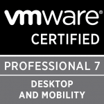 Desktop and Mobility – demonstrates your skills in installing, configuring, and maintaining virtual desktops and applications using VMware Horizon 7.