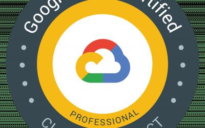 Google Cloud Certified – Professional Cloud Architect