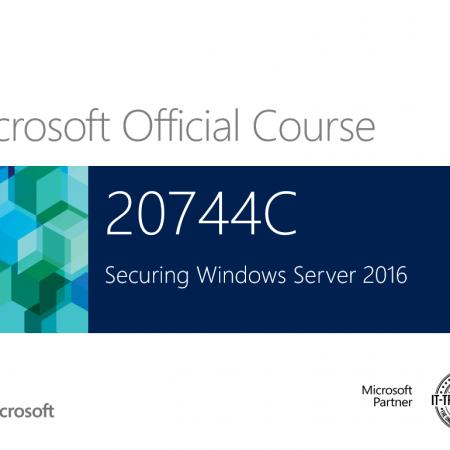 744 – Microsoft – Securing Windows Server 2016/2019