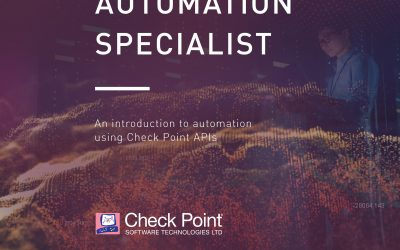 CCAS – Check Point Certified Automation Specialist (CCAS)