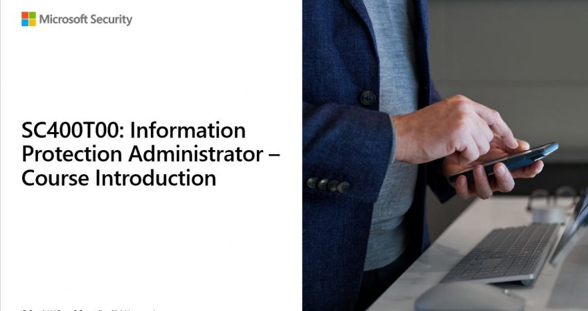 SC-400 – Microsoft Information Protection Administrator