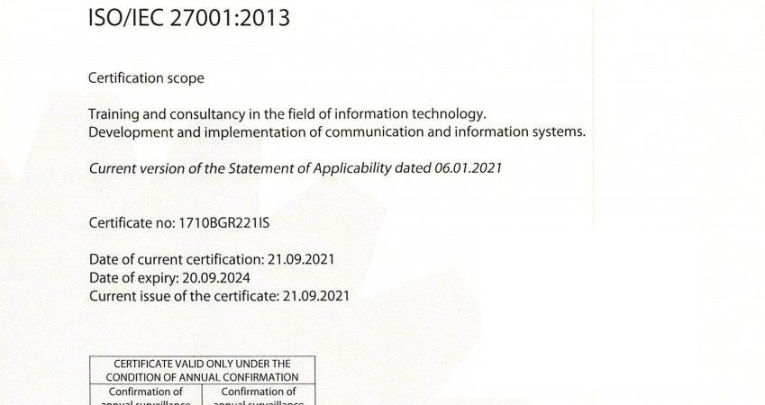ISO 27001:2013